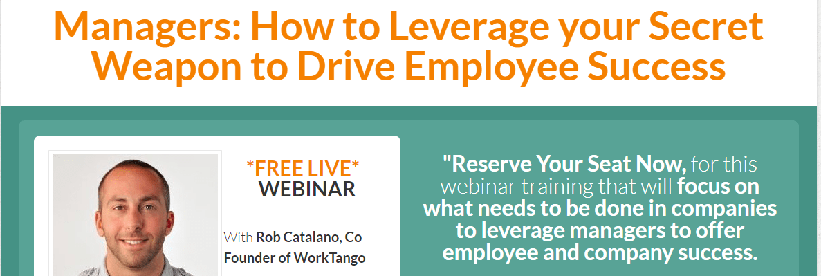 [On-Demand] How to Leverage your Secret Weapon to Drive Employee Success